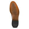 Stringate con lavorazione Brogue bata-the-shoemaker, blu, 824-9337 - 17