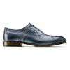 Stringate con lavorazione Brogue bata-the-shoemaker, blu, 824-9337 - 26