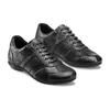 Sneakers da uomo con lacci bata, nero, 844-6141 - 16