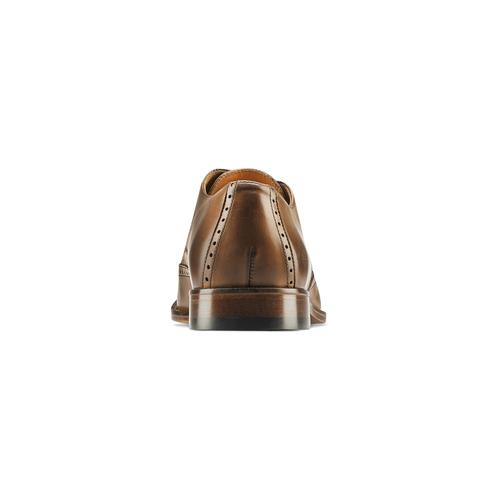 Stringate con dettagli Brogue bata-the-shoemaker, marrone, 824-4342 - 16