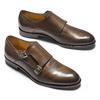 Monk in vera pelle bata-the-shoemaker, marrone, 814-4130 - 19