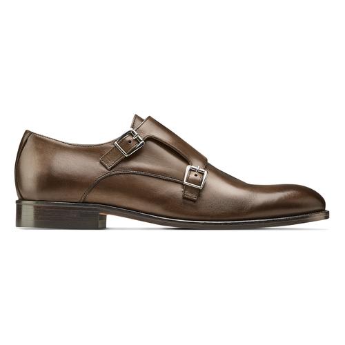 Monk in vera pelle bata-the-shoemaker, marrone, 814-4130 - 26