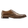 Stringate con dettagli Brogue bata-the-shoemaker, marrone, 824-4342 - 26