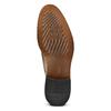 Stringate con dettagli Brogue bata-the-shoemaker, marrone, 824-4342 - 17