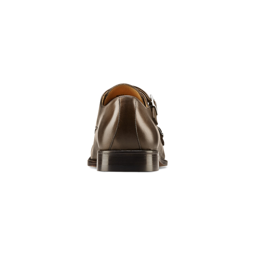 Monk in vera pelle bata-the-shoemaker, marrone, 814-4130 - 16