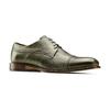 Stringate verdi in pelle bata-the-shoemaker, 824-2348 - 13