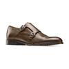 Monk in vera pelle bata-the-shoemaker, marrone, 814-4130 - 13