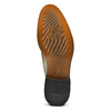 Stringate verdi in pelle bata-the-shoemaker, 824-2348 - 17