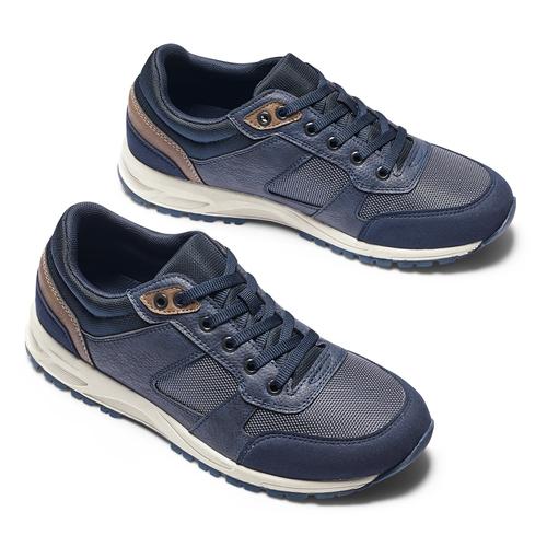 Sneakers sportive da uomo bata, blu, 841-9151 - 19