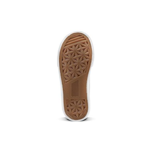 Sneakers alte con stelle mini-b, oro, 221-1217 - 17