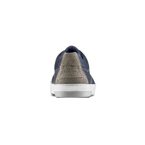 Sneakers in nabuk da uomo bata, blu, 846-9146 - 16