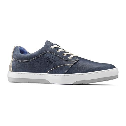 Sneakers in nabuk da uomo bata, blu, 846-9146 - 13