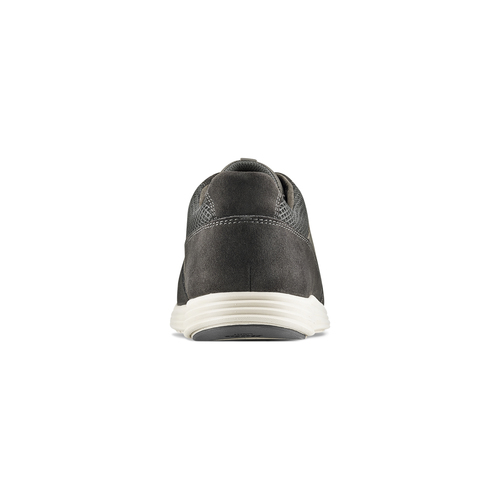 Sneakers Light in pelle bata-light, grigio, 844-2161 - 16