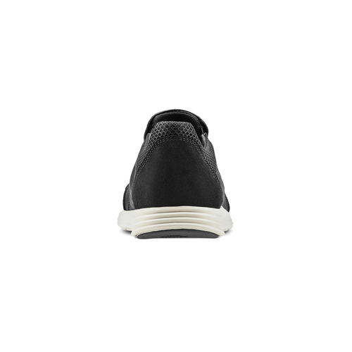 Slip-on in pelle bata-light, nero, 834-6162 - 16
