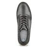 Sneakers Light in pelle bata-light, grigio, 844-2161 - 15