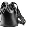 Borsa a secchiello da donna bata, nero, 961-6230 - 15