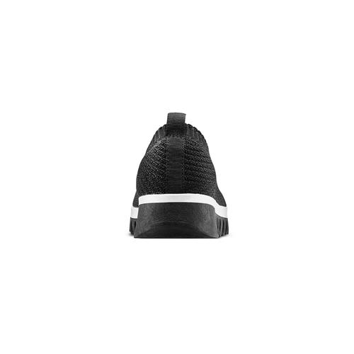 Sneakers senza lacci bata, nero, 539-6113 - 15