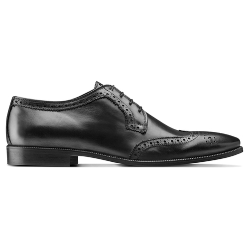 Derby da uomo in pelle bata-the-shoemaker, nero, 824-6335 - 26
