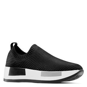 Sneakers Platform bata, nero, 539-6129 - 13