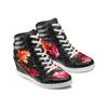 Sneakers con zeppa interna bata, nero, 729-6193 - 16