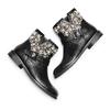 Ankle boots con perle bata, nero, 591-6783 - 26