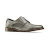 Derby in vera pelle bata-the-shoemaker, grigio, 824-2332 - 13