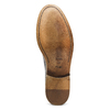 Mocassini in pelle scamosciata bata-the-shoemaker, grigio, 813-2116 - 17