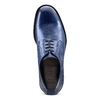 Derby da uomo in vera pelle bata-the-shoemaker, blu, 824-9332 - 17