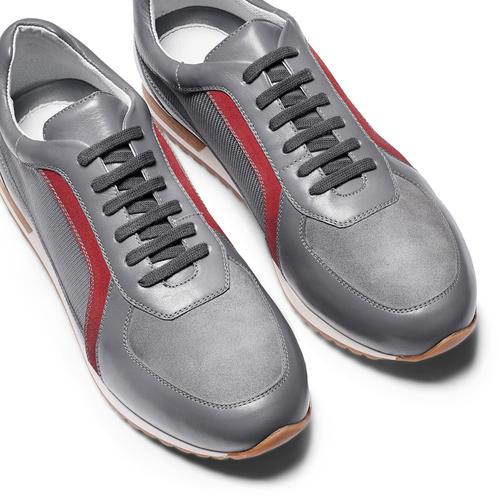 Sneakers in pelle da uomo bata, grigio, 844-2142 - 26