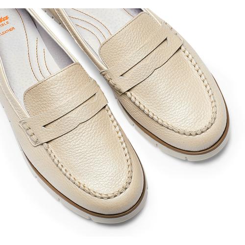 Mocassini Flexible da donna flexible, beige, 514-8154 - 26
