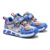Sneakers da bambino con luci mini-b, blu, 211-9102 - 19