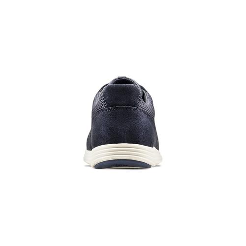 Sneakers in pelle bata-light, blu, 844-9161 - 16