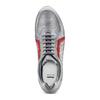Sneakers in pelle da uomo bata, grigio, 844-2142 - 17