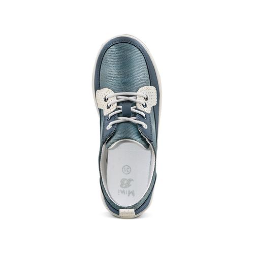 Sneakers casual da bambino mini-b, blu, 311-9146 - 17