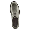 Derby in vera pelle bata-the-shoemaker, grigio, 824-2332 - 17