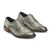 Derby in vera pelle bata-the-shoemaker, grigio, 824-2332 - 16