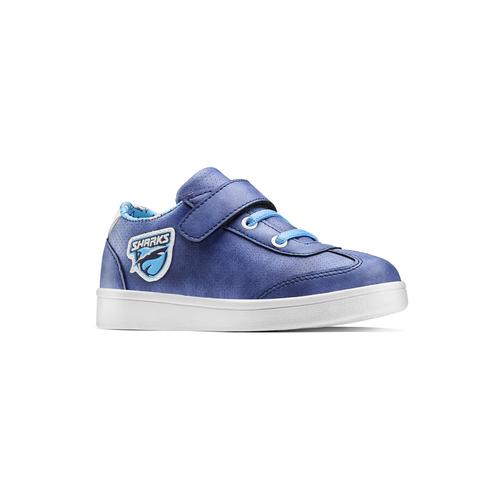 Sneakers Sharks da bambino mini-b, blu, 211-9191 - 13