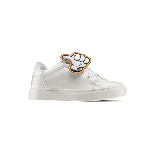 Sneakers con dettagli fumetto mini-b, bianco, 211-1193 - 13