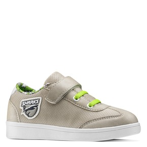 Sneakers basse da bambino mini-b, beige, 211-2191 - 13