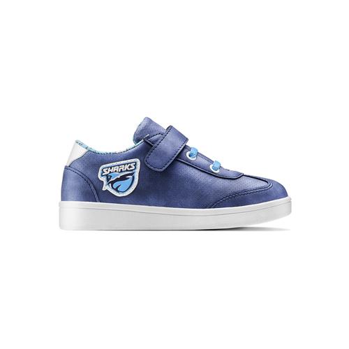 Sneakers Sharks da bambino mini-b, blu, 211-9191 - 26