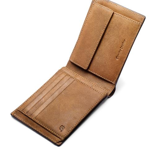 Portafoglio in pelle bata, marrone, 944-3146 - 15