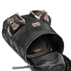 Zaino in tessuto bata, nero, 969-6195 - 17