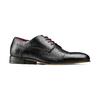 Stringate in vera pelle bata-the-shoemaker, nero, 824-6347 - 13