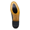 Stringate in vera pelle bata-the-shoemaker, nero, 824-6347 - 19