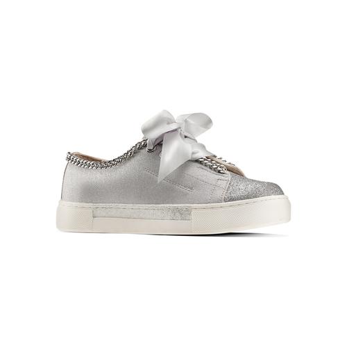 Sneakers senza lacci da bambina mini-b, grigio, 321-2307 - 13