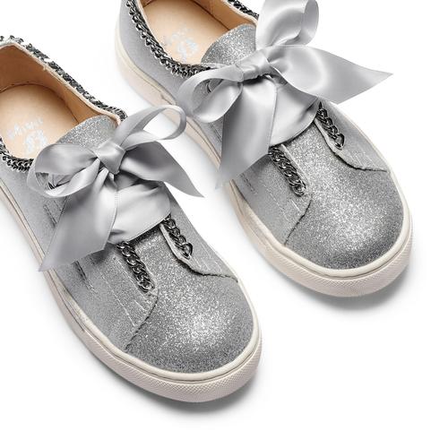 Sneakers senza lacci da bambina mini-b, grigio, 321-2307 - 26