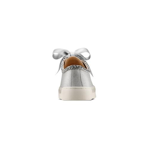 Sneakers senza lacci da bambina mini-b, grigio, 321-2307 - 15