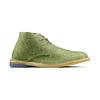 Polacchini in suede bata, verde, 823-7291 - 13
