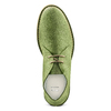 Polacchini in suede bata, verde, 823-7291 - 17