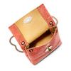 Minibag in vera pelle bata, rosso, 964-5239 - 16